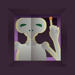 Illustration of  E.T.