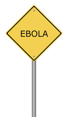 Warning Sign EBOLA