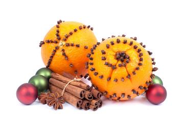 Studded oranges