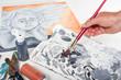 canvas print picture - Acryl Malerei #06
