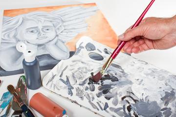 Acryl Malerei #06