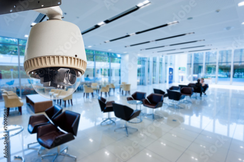 CCTV or surveillance operating in office building - 70040569