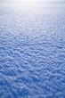 canvas print picture - schneedecke glatt im winter