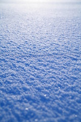 schneedecke glatt im winter