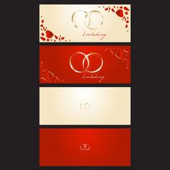 Einladung Hochzeit Herzen