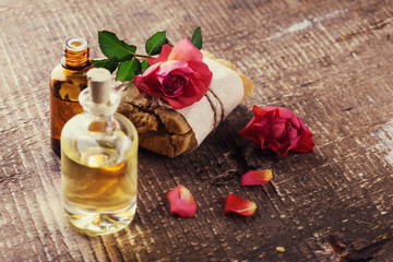 Natural handmade soap and aroma oil
