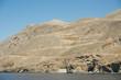 canvas print picture - Braungebrannte Südküste von Kreta bei Sfakia