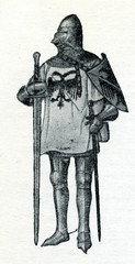 Knight in suit of armour (15th century)