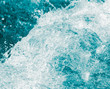 background of stormy water with splashes