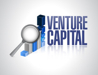 business graph venture capital sign illustration