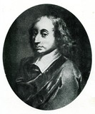 Blaise Pascal, French mathematician, physicist, inventor poster