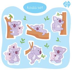 Australian Koala Set