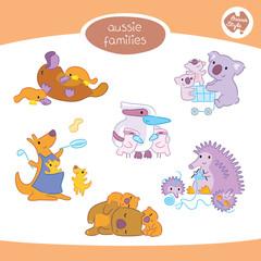 Australian Animal Families
