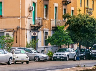 A street in Messina.
