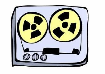 doodle tape recorder