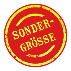 sb16 - SaleButton Rund - Sondergrösse - g1652