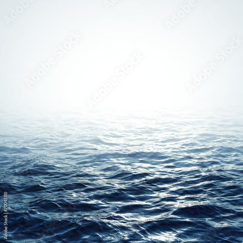 Deurstickers Water Sea background