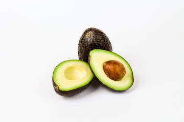 Sliced Avacado with pit
