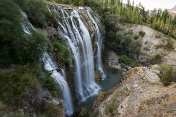 Tortun Waterfall Erzurum Turkey