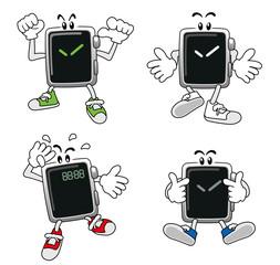 腕時計型端末のキャラクター