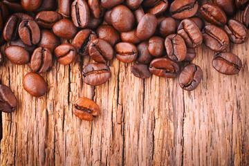 Kaffee Hintergrund - Kaffeebohnen - Fair Trade