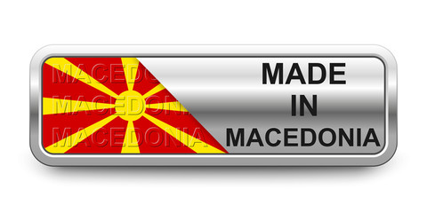 Made in Macedonia Button