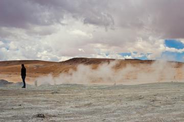 Geyser,Bolivia