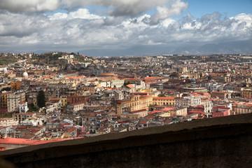 Napoli, lanscape from Saint Martino