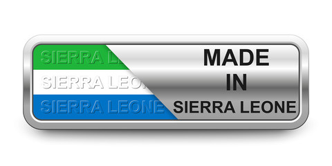 Made in Sierra Leone Button