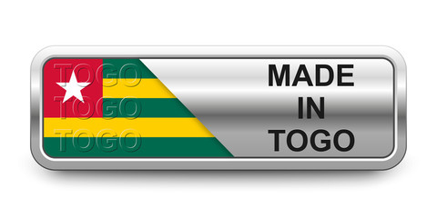 Made in Togo Button