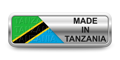 Made in Tanzania Button