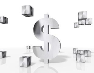 construction of a Dollar symbol