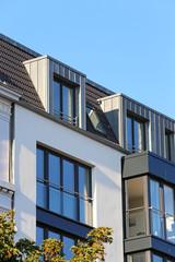 Neubau mit Dachgauben