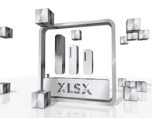 construction of a xlsx symbol