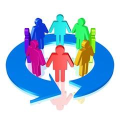 Nutzergruppe - Gemeinschaft
