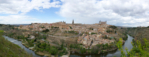 the fortress city of toledo