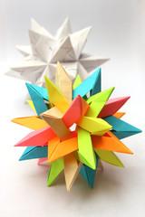 Modular origam paper stars