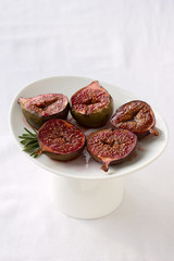 Baked Figs with sugar muskovado