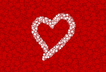 Red Heart Galxy