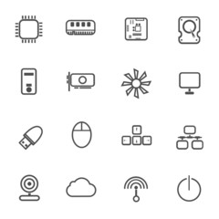 Computer Device Icons
