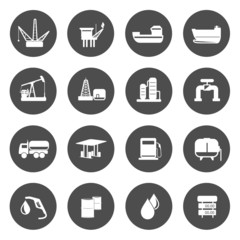 WeOil Production Icons