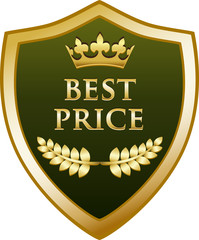 Best Price Gold Shield
