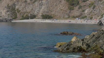 Cotobro naturist beach in Almuñecar