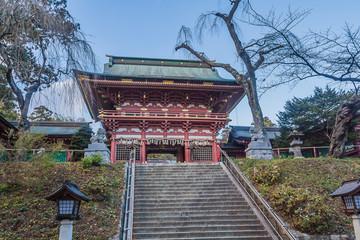 塩竈神社の随神門