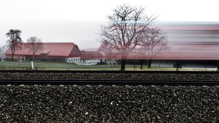 Bahnverkehr/ Eisenbahn/ Schienenverkehr
