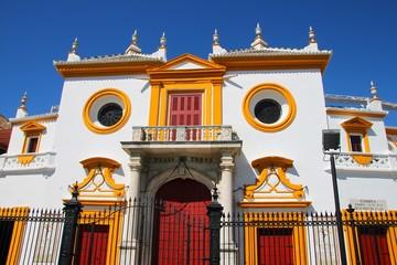Les arènes de Séville, Espagne