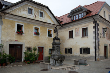 Main Square in Radovljica