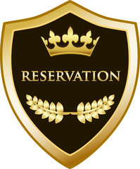 Reservation Gold Shield
