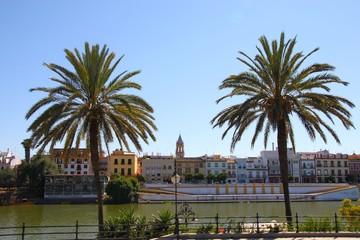 Les quais du Guadalquivir, Séville
