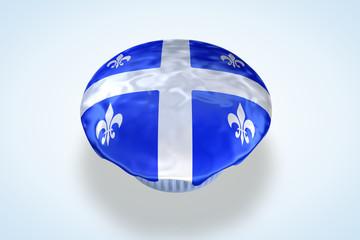 Quebec Flag Cupcake